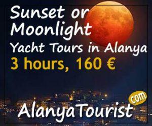 alanya yacht tours