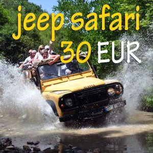 alanya jeep safari